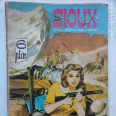Tebeos: SIOUX Nº 17 - MUY DIFICIL - 1964 TORAY - 17 X 12 CMS.. Lote 133055318