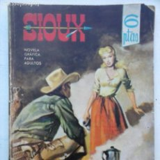 Tebeos: SIOUX Nº 19 - 1964 TORAY - MUY DIFICIL - 17 X 12 CMS. - 64 PGS.. Lote 133055502