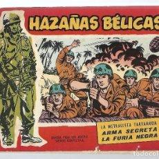 BDs: V24- HAZAÑAS BELICAS - AMETRALLADORA TARTAMUDA Nº 48 - ORIGINAL. Lote 133203542