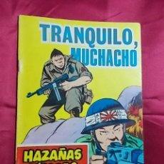 Tebeos: HAZAÑAS BÉLICAS EXTRA. Nº 185. TRANQUILO. MUCHACHO. EDICIONES TORAY. Lote 133356034