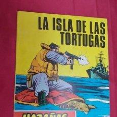 Tebeos: HAZAÑAS BÉLICAS. Nº 233. LA ISLA DE LAS TORTUGAS. EDICIONES TORAY. Lote 133422450