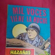 Tebeos: HAZAÑAS BÉLICAS . Nº 249. MIL VOCES TIENE LA NOCHE. EDICIONES TORAY. Lote 133424610
