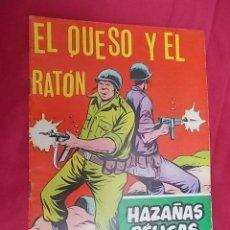 Tebeos: HAZAÑAS BÉLICAS . Nº 263. EL QUESO Y EL RATÓN. EDICIONES TORAY. Lote 133424730