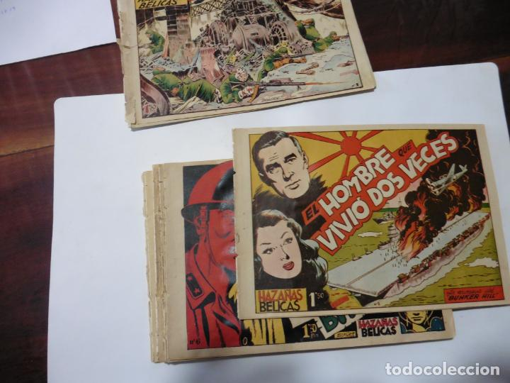 HAZAÑAS BELICAS LOTE DE 14 CUADERNILLOS DE LOS PRIMEROS TORAY ORIGINAL (Tebeos y Comics - Toray - Hazañas Bélicas)