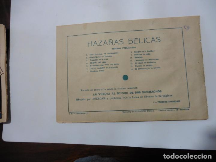 Tebeos: HAZAÑAS BELICAS LOTE DE 14 CUADERNILLOS DE LOS PRIMEROS TORAY ORIGINAL - Foto 6 - 133437342