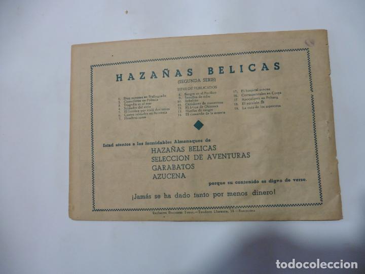 Tebeos: HAZAÑAS BELICAS LOTE DE 14 CUADERNILLOS DE LOS PRIMEROS TORAY ORIGINAL - Foto 8 - 133437342