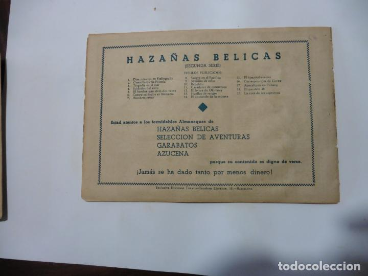 Tebeos: HAZAÑAS BELICAS LOTE DE 14 CUADERNILLOS DE LOS PRIMEROS TORAY ORIGINAL - Foto 9 - 133437342