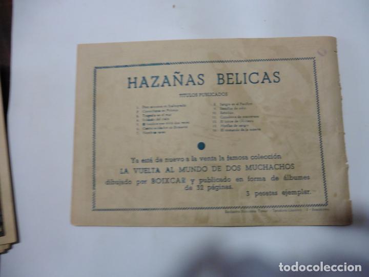 Tebeos: HAZAÑAS BELICAS LOTE DE 14 CUADERNILLOS DE LOS PRIMEROS TORAY ORIGINAL - Foto 11 - 133437342