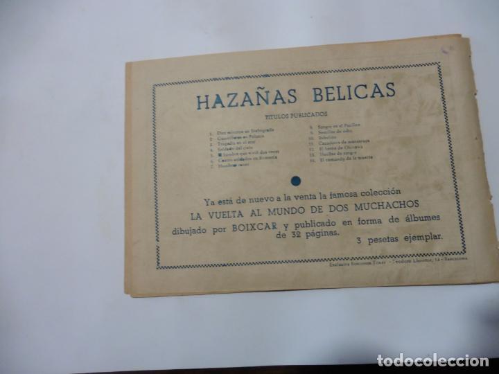 Tebeos: HAZAÑAS BELICAS LOTE DE 14 CUADERNILLOS DE LOS PRIMEROS TORAY ORIGINAL - Foto 17 - 133437342