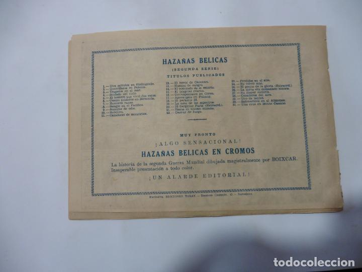 Tebeos: HAZAÑAS BELICAS LOTE DE 14 CUADERNILLOS DE LOS PRIMEROS TORAY ORIGINAL - Foto 20 - 133437342