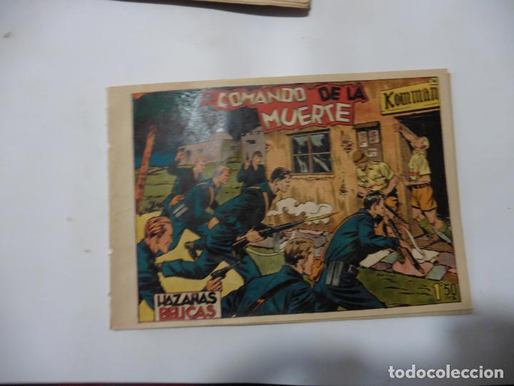 Tebeos: HAZAÑAS BELICAS LOTE DE 14 CUADERNILLOS DE LOS PRIMEROS TORAY ORIGINAL - Foto 24 - 133437342