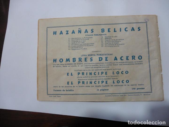 Tebeos: HAZAÑAS BELICAS LOTE DE 14 CUADERNILLOS DE LOS PRIMEROS TORAY ORIGINAL - Foto 28 - 133437342