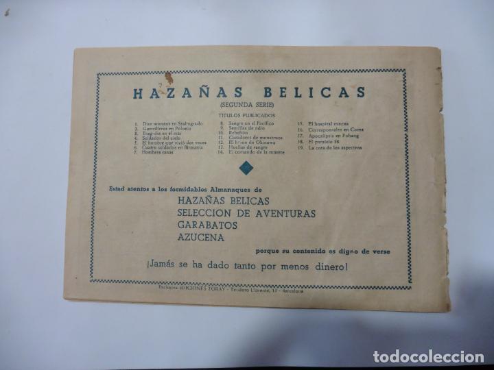 Tebeos: HAZAÑAS BELICAS LOTE DE 14 CUADERNILLOS DE LOS PRIMEROS TORAY ORIGINAL - Foto 29 - 133437342