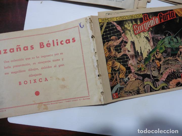 Tebeos: HAZAÑAS BELICAS LOTE DE 14 CUADERNILLOS DE LOS PRIMEROS TORAY ORIGINAL - Foto 31 - 133437342