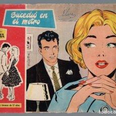 Tebeos: SUCEDIO EN EL METRO. COL. SUSANA Nº-31 EDICIONES TORAY 1959. Lote 133542002