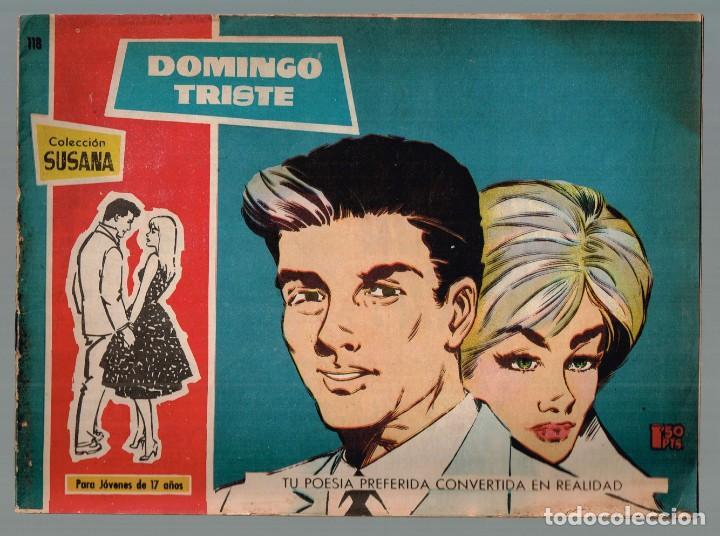 DOMINGO TRISTE. COL. SUSANA Nº-118 EDICIONES TORAY 1959 (Tebeos y Comics - Toray - Susana)