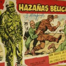 Tebeos: HAZAÑAS BELICAS EXTRA Nº 62 1958. Lote 133570042