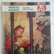 Tebeos: SIOUX Nº 140 - EDITORIAL TORAY 1969 - LONGARON PORTADA. Lote 134019914