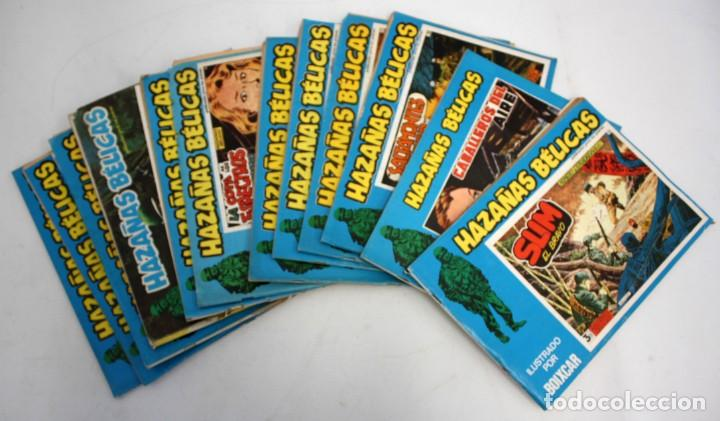 12 HAZAÑAS BELICAS-DOS SON EXTRAS-URSUS 1973. (Tebeos y Comics - Toray - Hazañas Bélicas)
