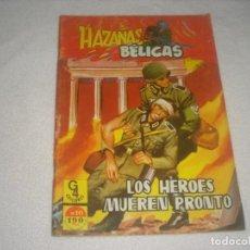 Tebeos: HAZAÑAS BELICAS Nº 10 . EDICIONES G4.. Lote 134301886