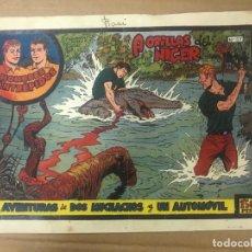 Tebeos: HOMBRES INTRÉPIDOS -AVENTURAS DE DOS MUCHACHOS Y UN AUTOMÓVIL- Nº 57. ORIGINAL.. Lote 134379114