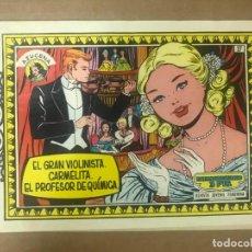 Tebeos: COLECCIÓN AZUCENA Nº 27 EL GRAN VIOLINISTA CARMELITA EL PROFESOR DE QUÍMICA, ED TORAY EXTRAORDINARIO. Lote 134380206