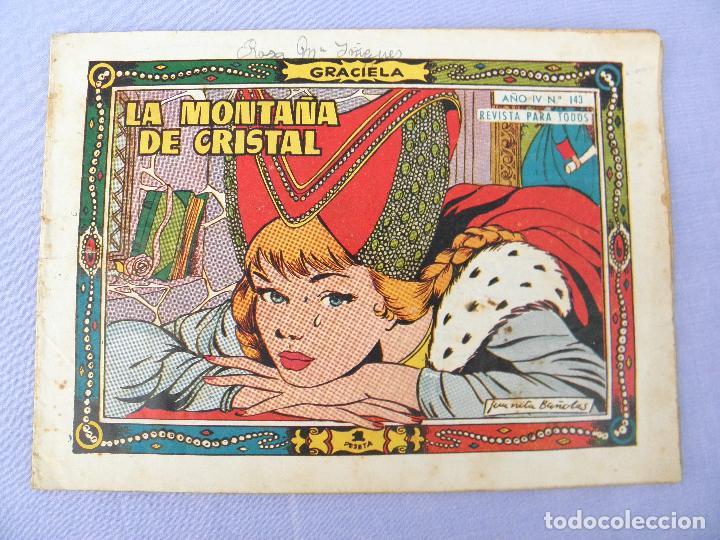 CÓMIC LA MONTAÑA DE CRISTAL, Nº 143 COLECCIÓN GRACIELA (Tebeos y Comics - Toray - Graciela)