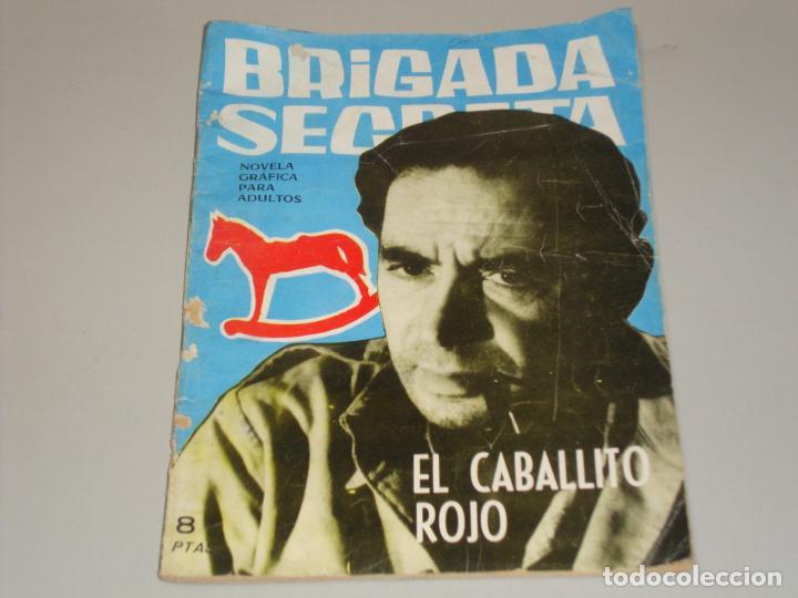 BRIGADA SECRETA EL CABALLITO ROJO (Tebeos y Comics - Toray - Brigada Secreta)