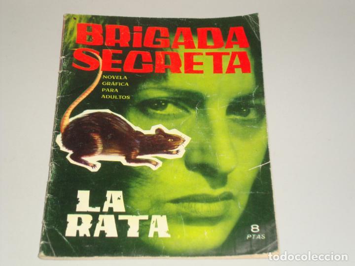 BRIGADA SECRETA LA RATA (Tebeos y Comics - Toray - Brigada Secreta)