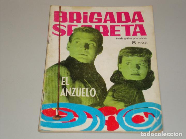 BRIGADA SECRETA EL ANZUELO (Tebeos y Comics - Toray - Brigada Secreta)