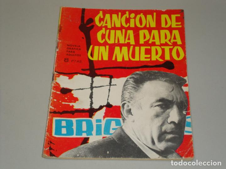 BRIGADA SECRETA CANCION DE CUNA PARA UN MUERTO (Tebeos y Comics - Toray - Brigada Secreta)