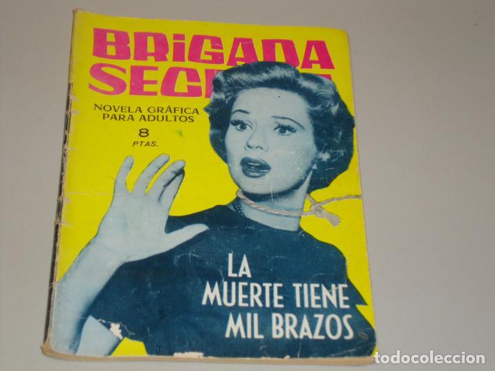 BRIGADA SECRETA LA MUERTE TIENE MIL BRAZOS (Tebeos y Comics - Toray - Brigada Secreta)