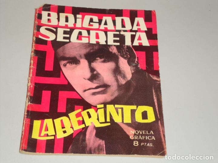BRIGADA SECRETA LABERINTO (Tebeos y Comics - Toray - Brigada Secreta)
