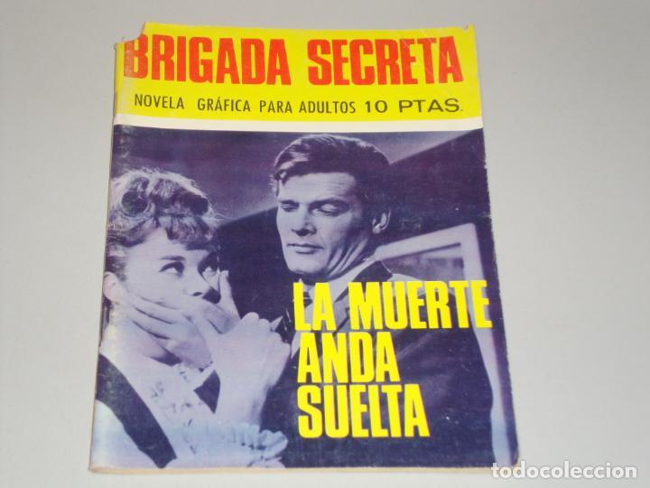 BRIGADA SECRETA LA MUERTE ANDA SUELTA (Tebeos y Comics - Toray - Brigada Secreta)