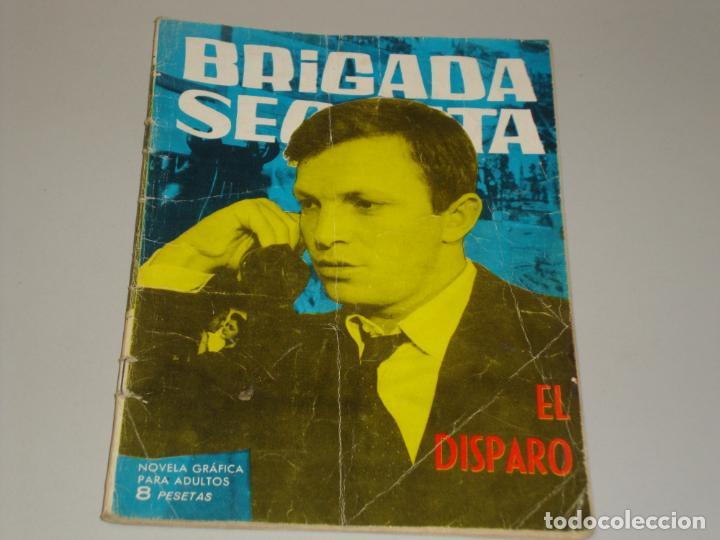 BRIGADA SECRETA EL DISPARO (Tebeos y Comics - Toray - Brigada Secreta)