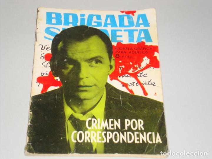 BRIGADA SECRETA CRIMEN POR CORRESPONDENCIA (Tebeos y Comics - Toray - Brigada Secreta)