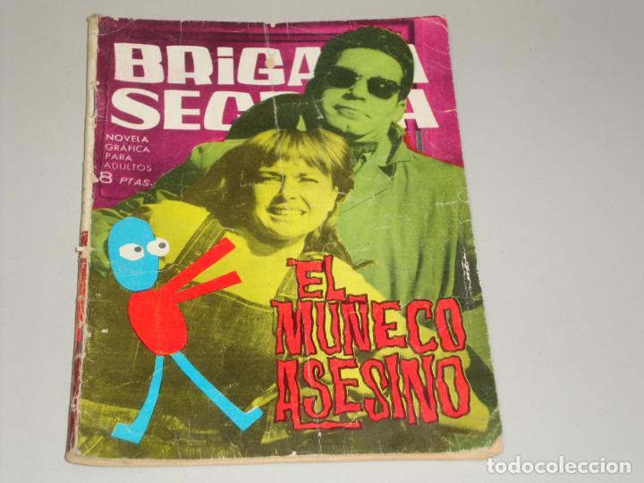 BRIGADA SECRETA EL MUÑECO ASESINO (Tebeos y Comics - Toray - Brigada Secreta)
