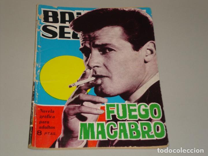 BRIGADA SECRETA FUEGO MACABRO (Tebeos y Comics - Toray - Brigada Secreta)