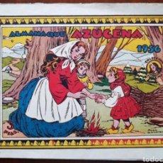 Tebeos: TEBEO AZUCENA ALMANAQUE 1956. Lote 134961463