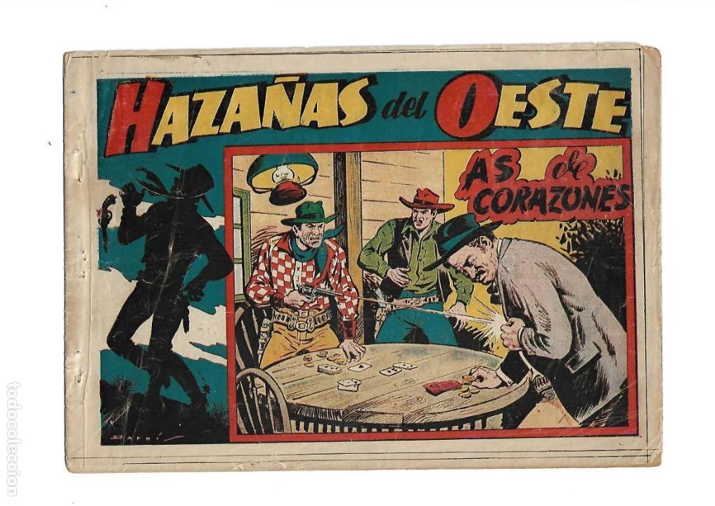Tebeos: Hazañas del Oeste, Año 1.950 Colección Completa son 11 Tebeos Originales muy dificil de Completar - Foto 2 - 135080638