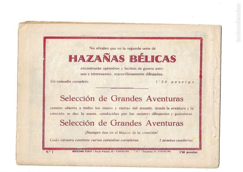 Tebeos: Hazañas del Oeste, Año 1.950 Colección Completa son 11 Tebeos Originales muy dificil de Completar - Foto 3 - 135080638