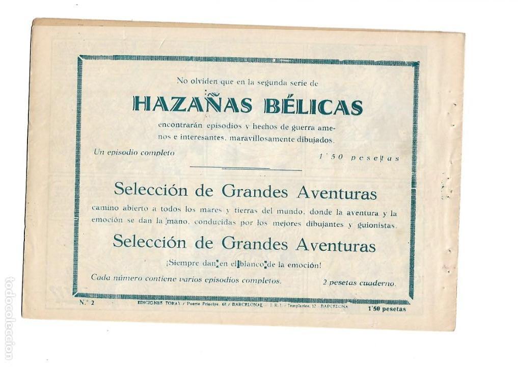 Tebeos: Hazañas del Oeste, Año 1.950 Colección Completa son 11 Tebeos Originales muy dificil de Completar - Foto 5 - 135080638