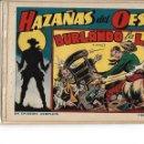 Tebeos: HAZAÑAS DEL OESTE, AÑO 1.950 COLECCIÓN COMPLETA SON 11 TEBEOS ORIGINALES MUY DIFICIL DE COMPLETAR. Lote 135080638