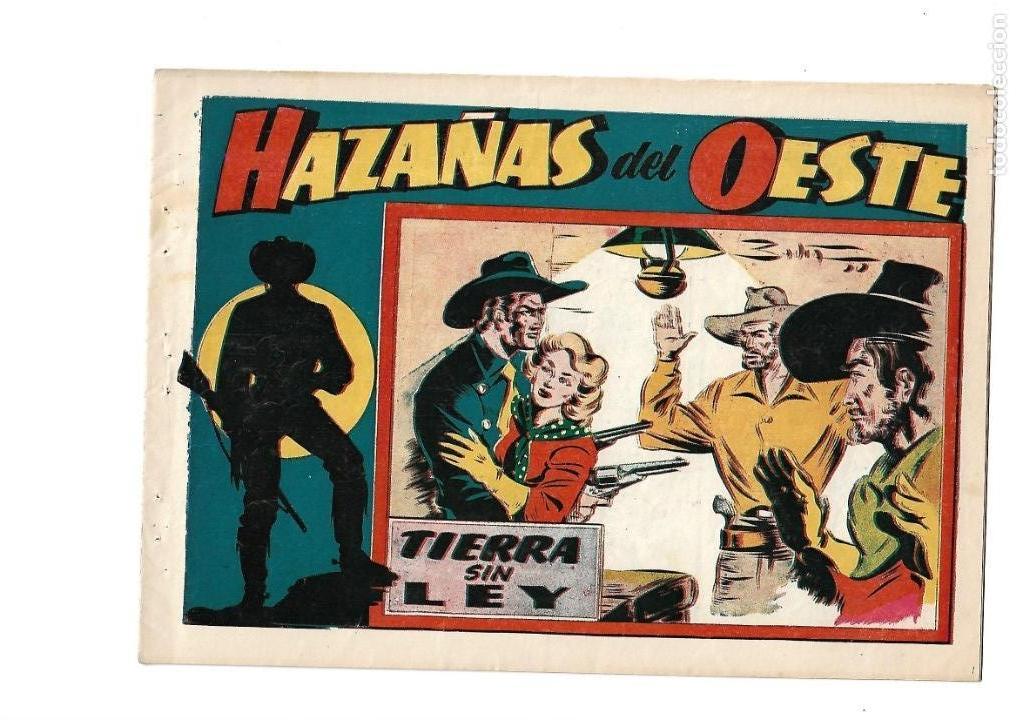 Tebeos: Hazañas del Oeste, Año 1.950 Colección Completa son 11 Tebeos Originales muy dificil de Completar - Foto 6 - 135080638