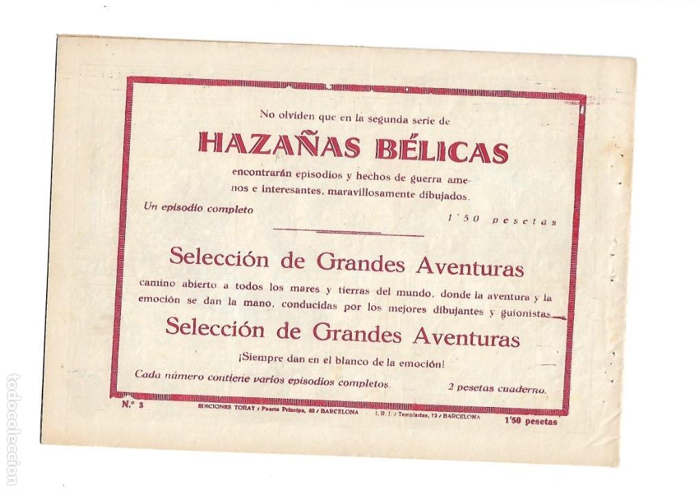 Tebeos: Hazañas del Oeste, Año 1.950 Colección Completa son 11 Tebeos Originales muy dificil de Completar - Foto 7 - 135080638