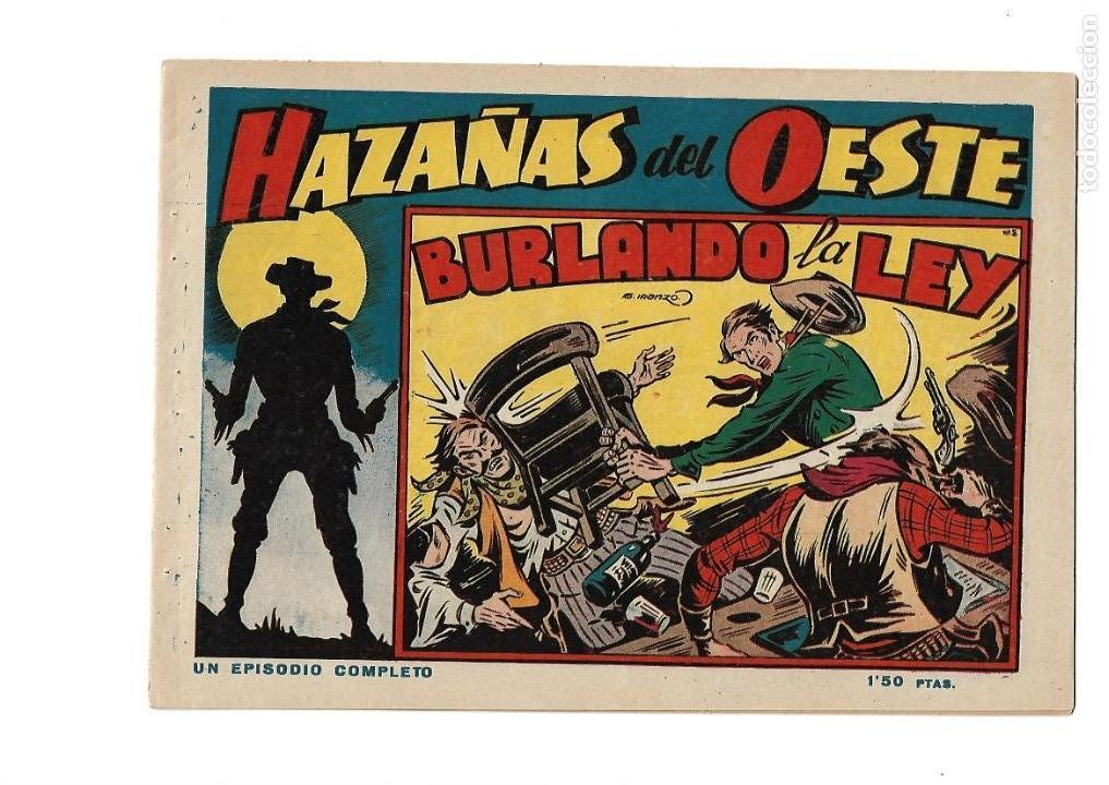 Tebeos: Hazañas del Oeste, Año 1.950 Colección Completa son 11 Tebeos Originales muy dificil de Completar - Foto 10 - 135080638