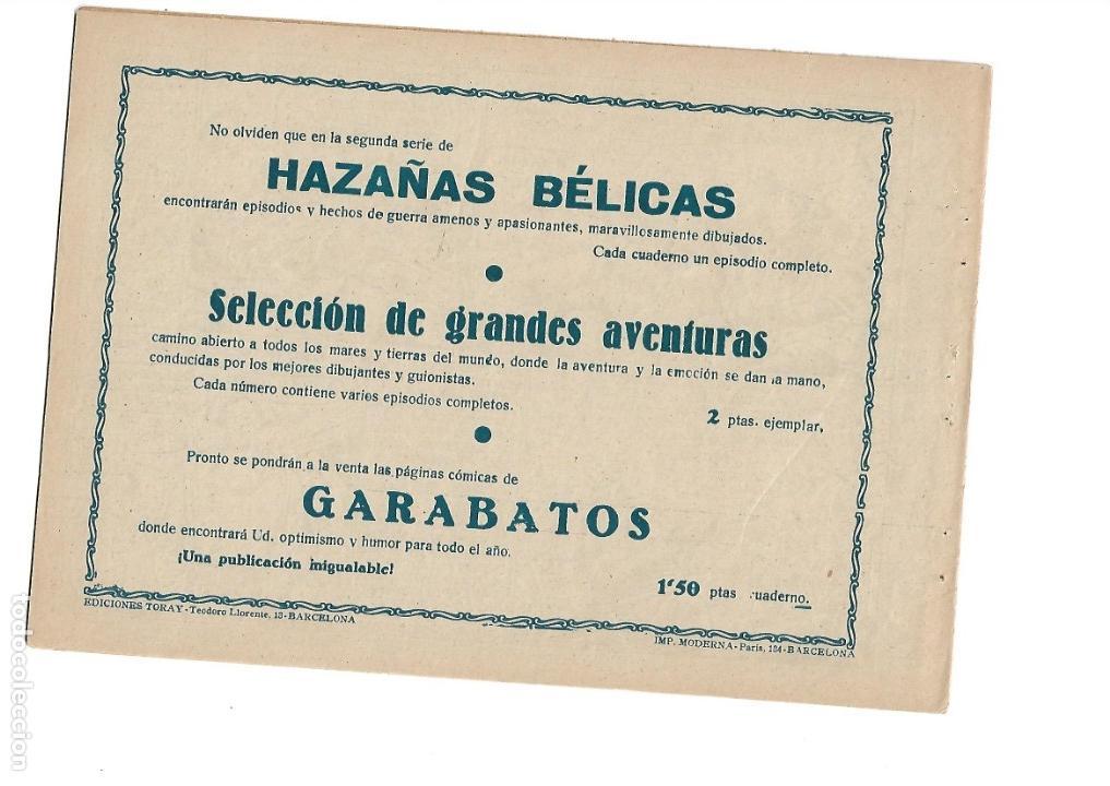 Tebeos: Hazañas del Oeste, Año 1.950 Colección Completa son 11 Tebeos Originales muy dificil de Completar - Foto 11 - 135080638