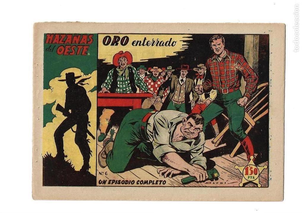 Tebeos: Hazañas del Oeste, Año 1.950 Colección Completa son 11 Tebeos Originales muy dificil de Completar - Foto 12 - 135080638