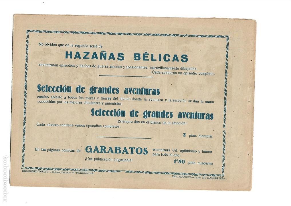 Tebeos: Hazañas del Oeste, Año 1.950 Colección Completa son 11 Tebeos Originales muy dificil de Completar - Foto 13 - 135080638