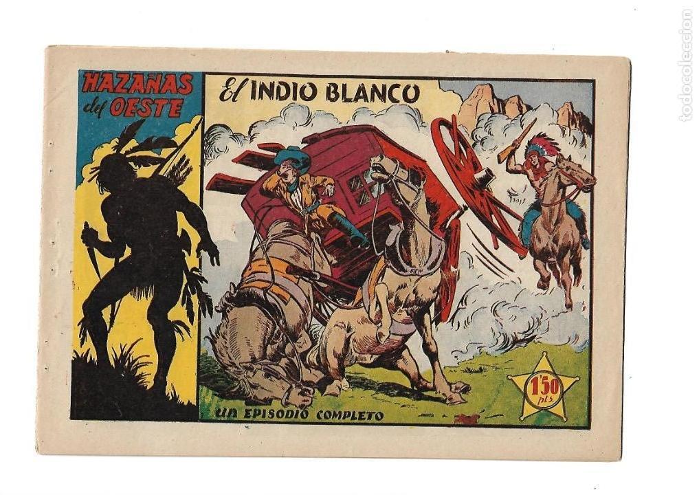 Tebeos: Hazañas del Oeste, Año 1.950 Colección Completa son 11 Tebeos Originales muy dificil de Completar - Foto 14 - 135080638